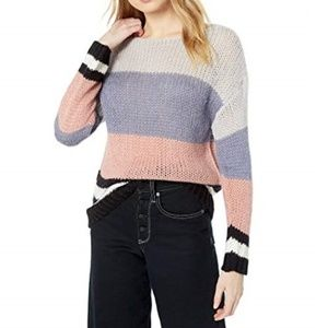 Lucky Brand Bold Stripe Pullover